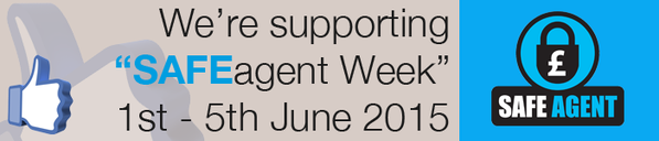 Yellow Oak Inventories supporting SAFEagent awareness week